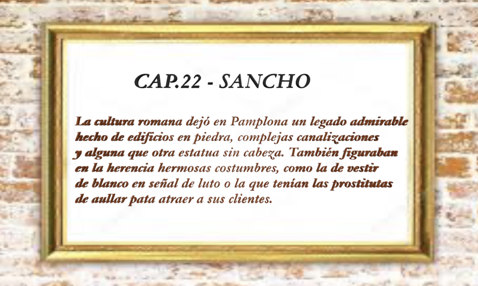 22 sancho 1