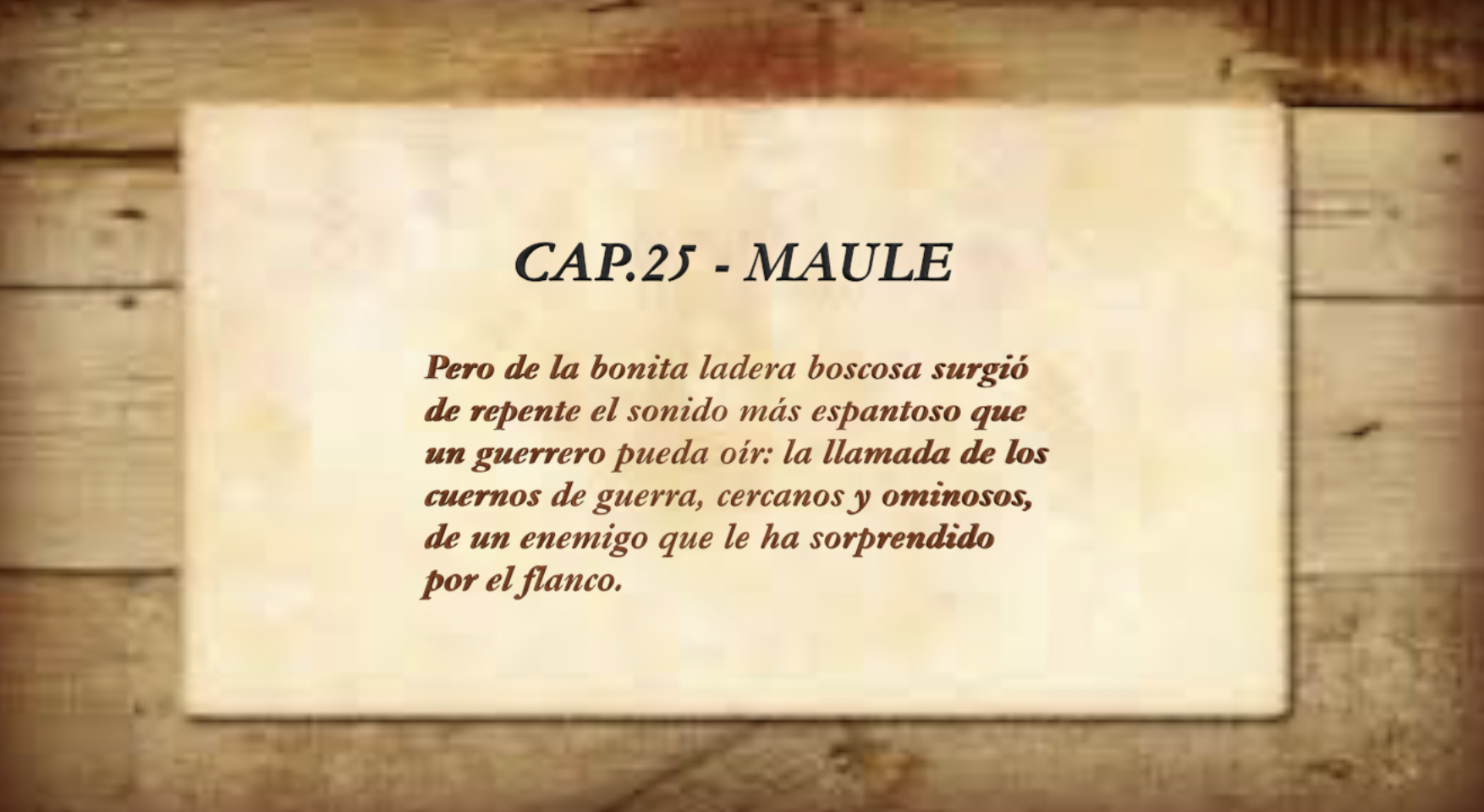 25 maule 1